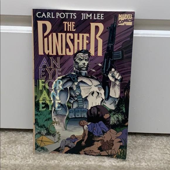 The Punisher An Eye for An Eye Comic Book